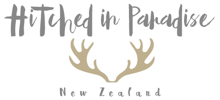 Hitched in Paradise Logo